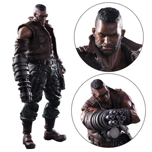 Final Fantasy VII Remake Barret Wallace Play Arts Kai Figure