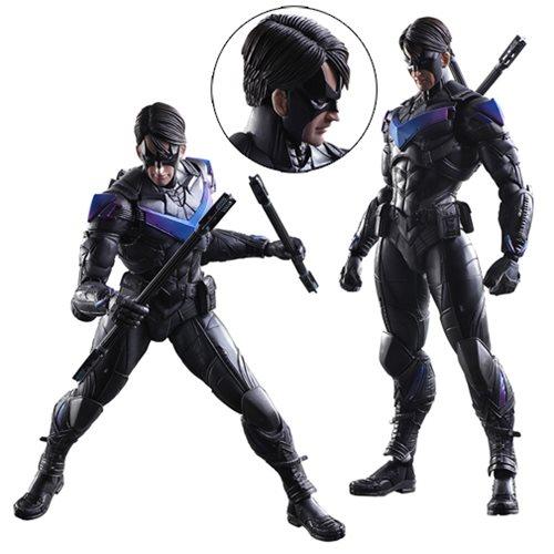 Batman: Arkham Knight Nightwing Play Arts Kai Action Figure