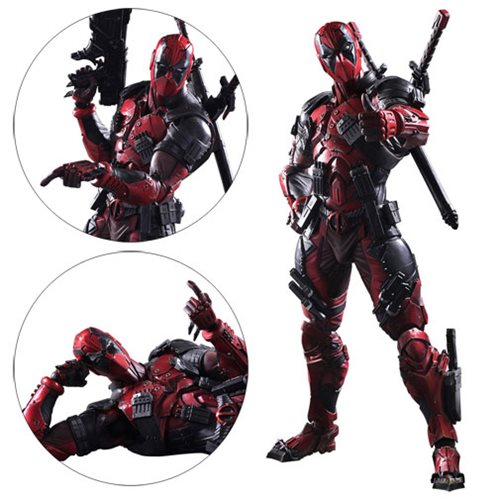 Marvel Universe Deadpool Variant Play Arts Kai Action Figure