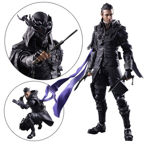 Kingsglaive Final Fantasy XV Nyx Ulrich PAK Action Figure Square - Free contractor invoice square enix online store