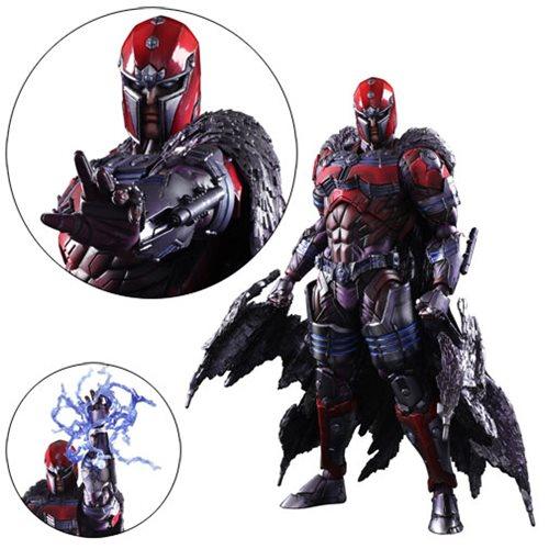 Marvel Universe Magneto Variant Play Arts Kai Figure