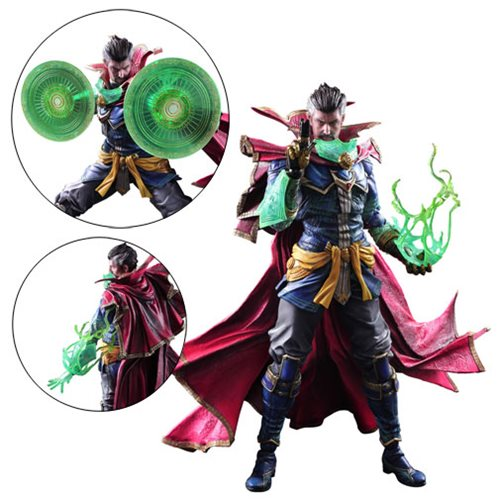 Marvel Universe Doctor Strange Variant Play Arts Kai Figure Square - Free contractor invoice square enix online store