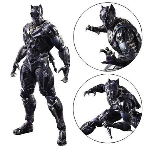 Marvel Universe Black Panther Variant Play Arts Kai Figure