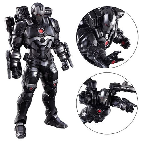 Marvel Universe War Machine Variant Play Arts Kai Figure Square - Free contractor invoice square enix online store