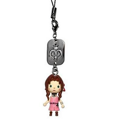 Kingdom Hearts Aerith Avatar Mascot Phone Charm