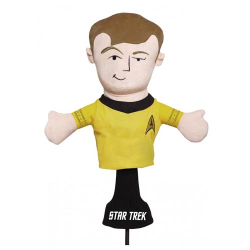 Star Trek Captain Kirk Golf Club Cover