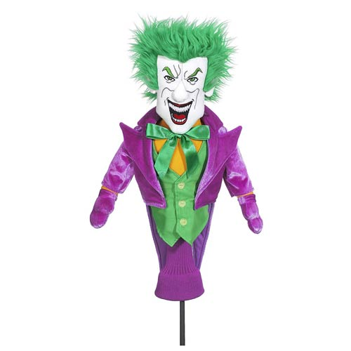 Batman The Joker Character Plush Golf Club Cover