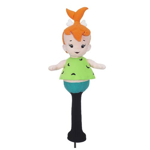 The Flintstones Pebbles Character Plush Golf Club Cover