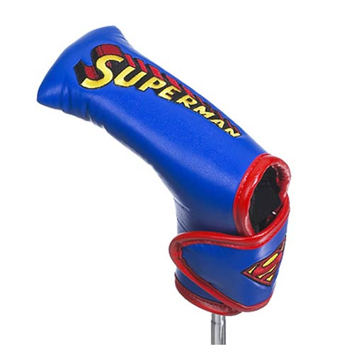 Superman Logo Blade Putter Golf Club Cover