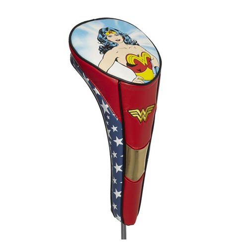 Wonder Woman Logo Performance Driver Golf Club Cover