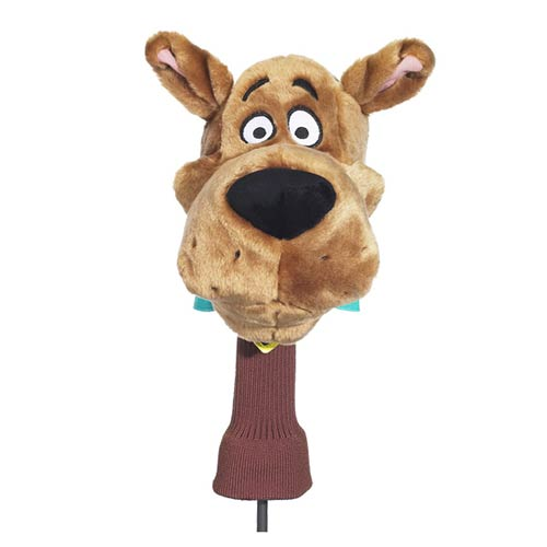 Scooby-Doo Character Face Plush Golf Club Cover