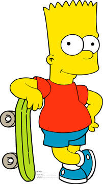 Bart Simpson Stand-Up