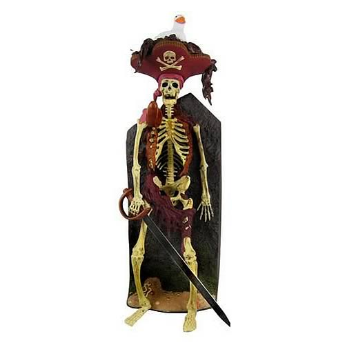 Pirates of the Caribbean Bird Head Skeleton Statue