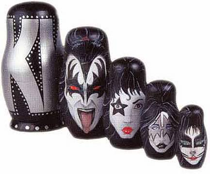 Kiss Nesting Dolls Set