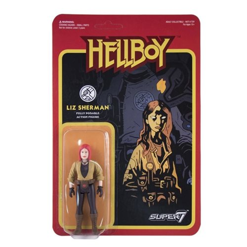 Hellboy Liz Sherman 3 3/4-Inch ReAction Figure