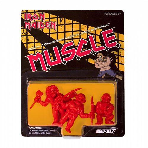 Iron Maiden M.U.S.C.L.E. Red Mini-Figures Set