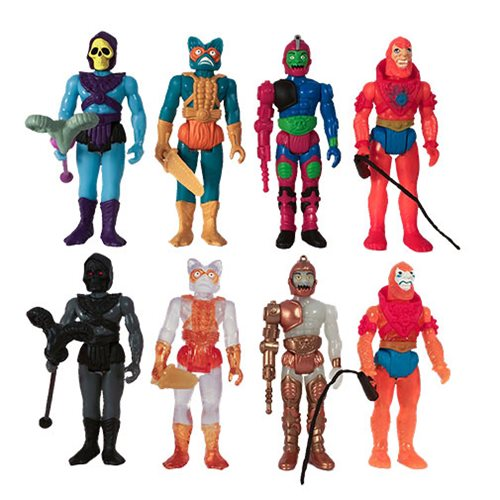 Masters of the Universe Blind Box 3 3/4-Inch Snake Mountain ReAction Figure (Random)