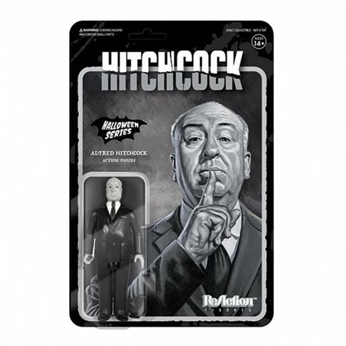 Alfred Hitchcock Grayscale ReAction Figure