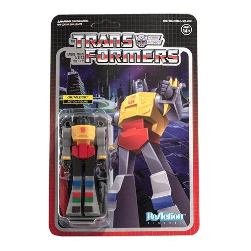 Transformers Grimlock 3 3/4-Inch ReAction Figure