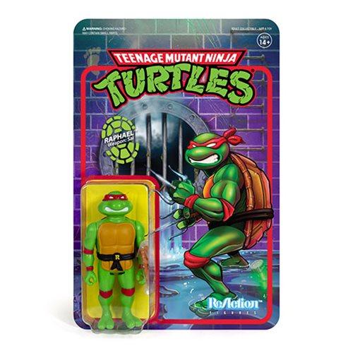 Teenage Mutant Ninja Turtles Raphael 3  3/4-Inch ReAction Figure