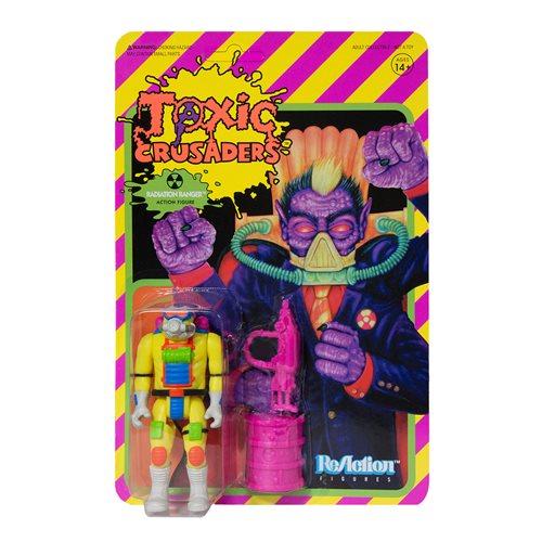 Toxic Crusaders Radiatoin Ranger 3 3/4-Inch ReAction Figure