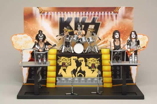 KISS Alive II SMITI Playset