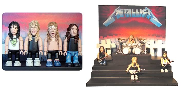 Metallica Master of Puppets SMITI Playset
