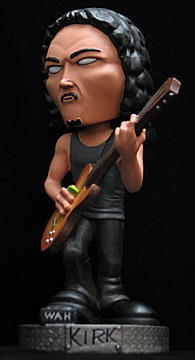 Metallica: Kirk Bobble Head