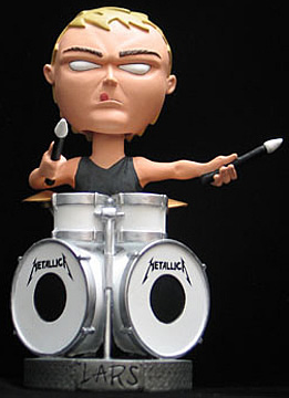 Metallica: Lars Bobble Head