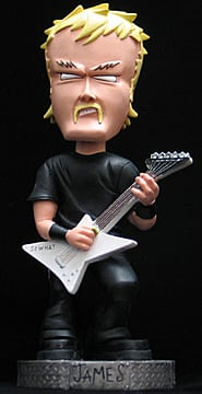 Metallica: James Bobble Head