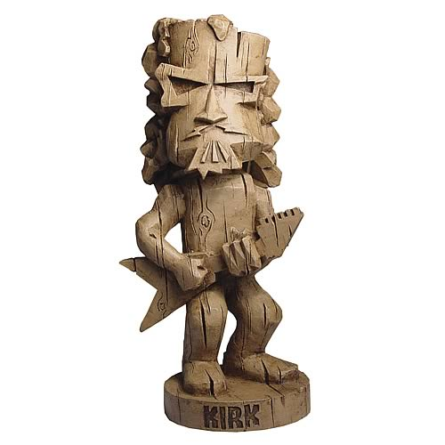 Metallica Resin Tiki Kirk Bobble Head