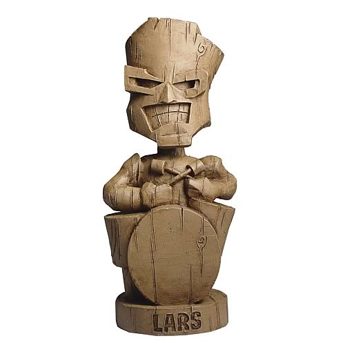 Metallica Resin Tiki Lars Bobble Head