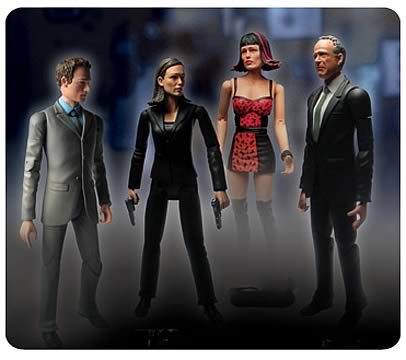 Alias 6-inch Action Figures Series 1 Set