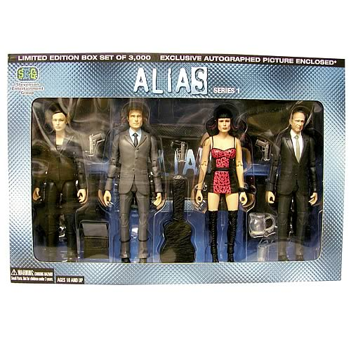 Alias Collector's Edition Boxed Set
