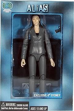Comic-Con Exclusive Alias Sydney Figure