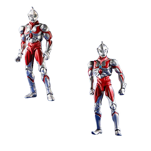 Ultraman SRC Ultraman Type A and B Action Figure 2-Pack