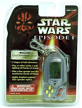 Gian Speeder Keychain Game