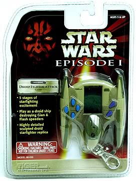Droid Attack Keychain Game