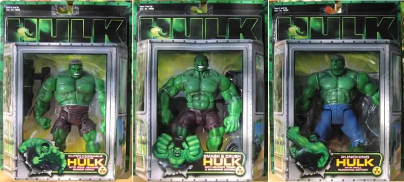 Hulk Movie Figures Series 1