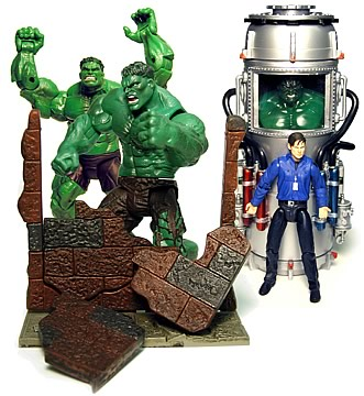 Hulk Movie Figures 2 Case