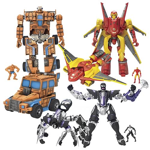 Marvel Mega Morphs Series 3 Set - DO NOT USE