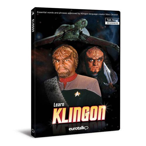 Star Trek Talk Now Learn Klingon PC Program