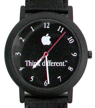 Think Different, White Apple