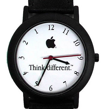 Think Different, Black Apple