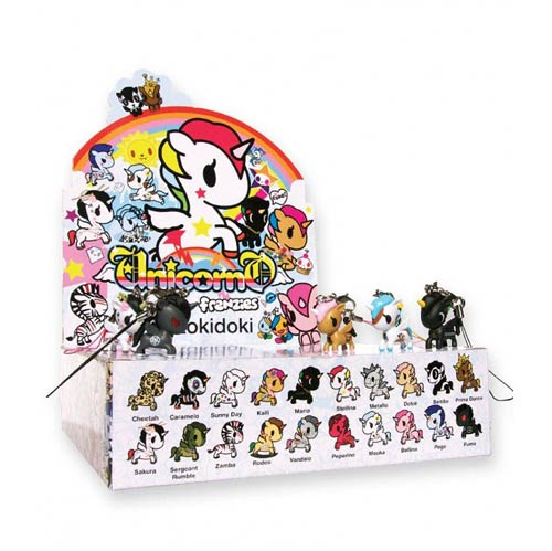 Tokidoki Unicorno Frenzies Vinyl Figure Display Box
