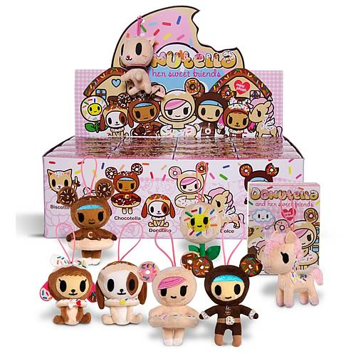 Tokidoki Donutella and Friends Random Mini-Plush Figure