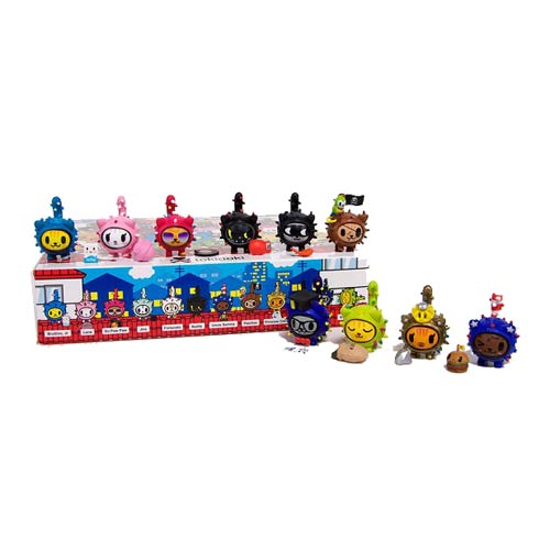 Tokidoki Cactus Kitties Vinyl Figure 5-Pack