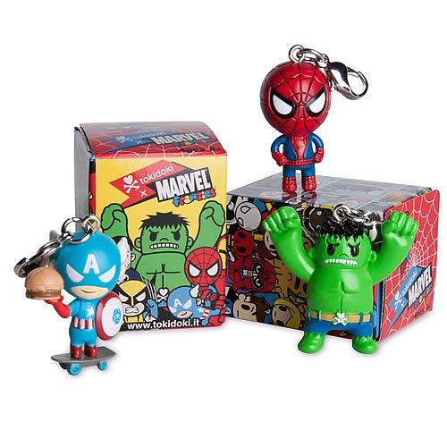 Marvel Frenzies Tokidoki Vinyl Figure Display Box