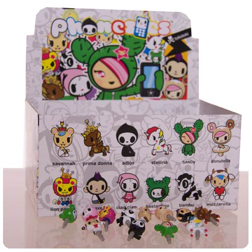 Tokidoki Phonzies Phone Charm 3-Pack