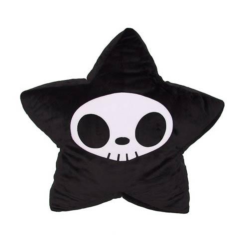 Tokidoki Adios Star Black Pillow